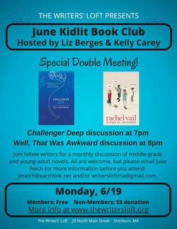 KidLit Book Club 6.19