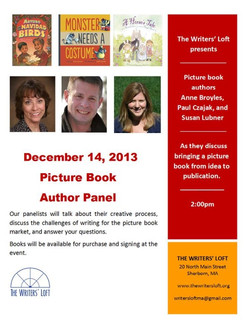 2013-12-14 Picture Book Panel