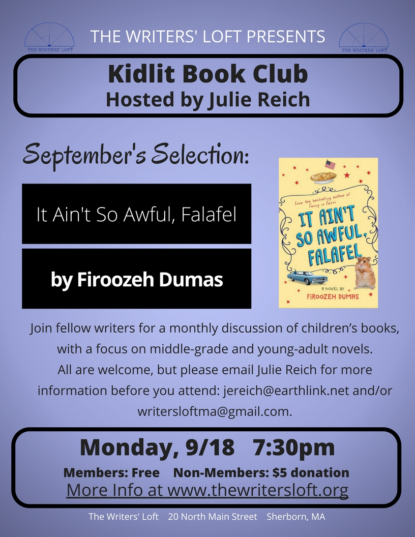 KidLit Book Club 9.18.17