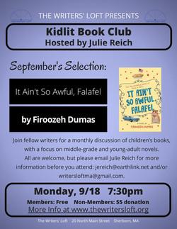 KidLit Book Club 9.18.17