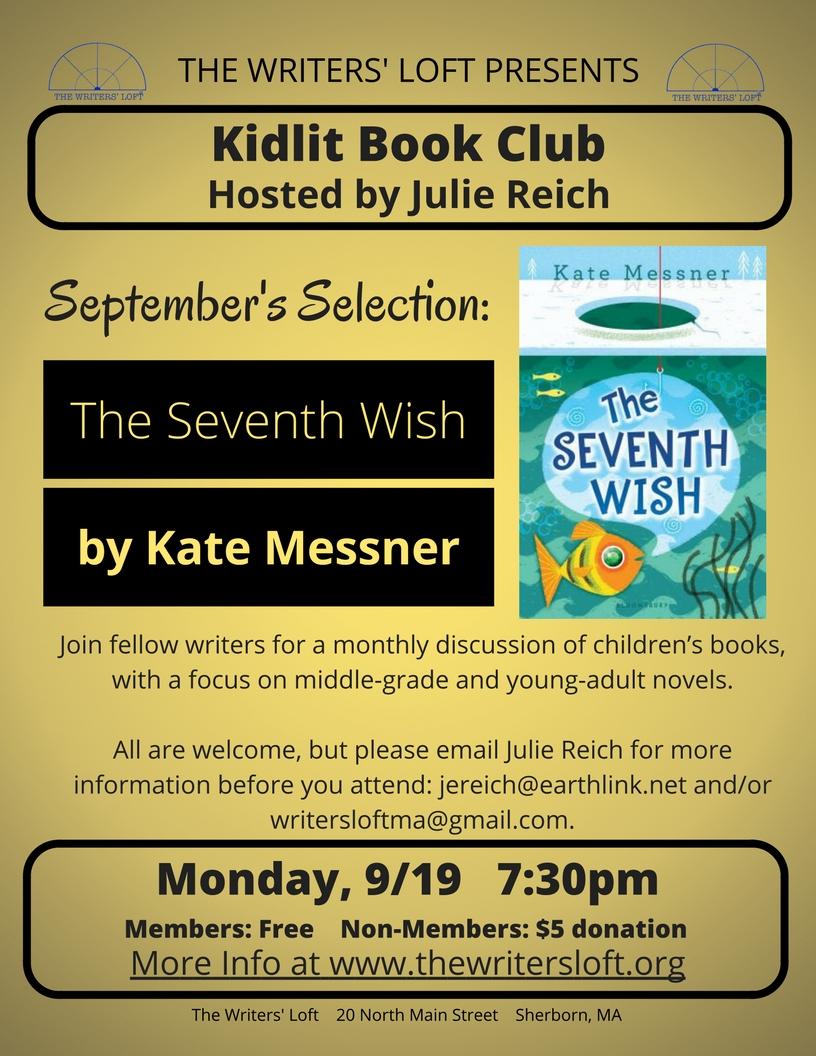2016-09-19 Kidlit Book Club