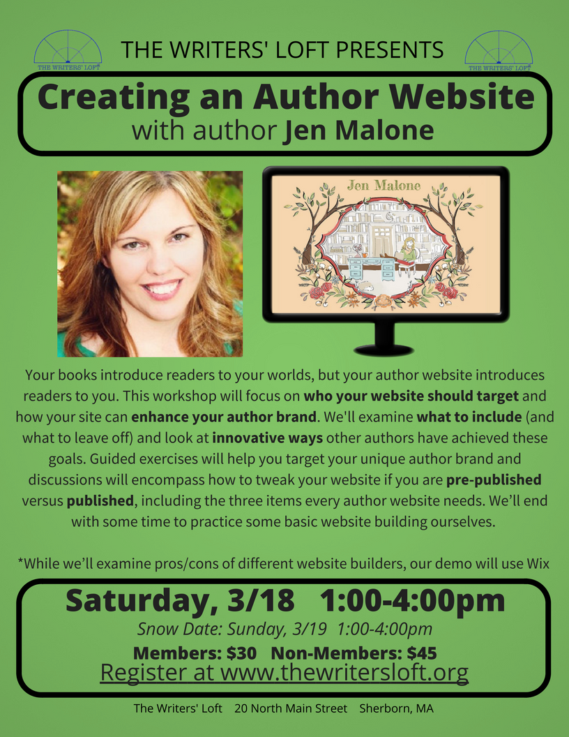 2017-03 Jen Malone Website Workshop