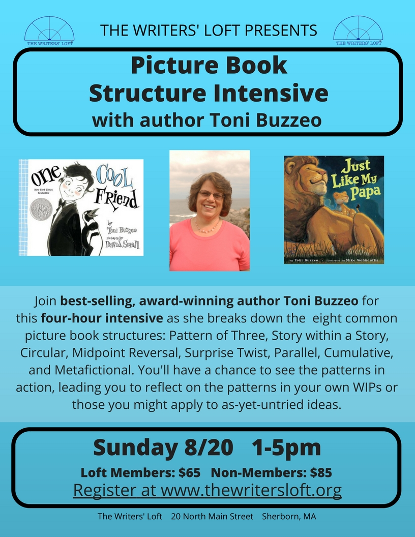 Toni Buzzeo Picture Book Structure Intensive
