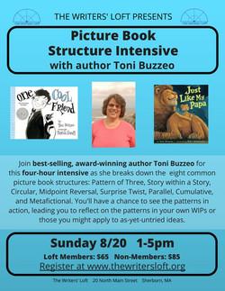 Toni Buzzeo Picture Book Structure Intensive