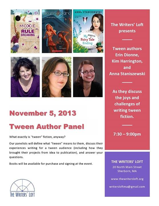 2013-11-05 Tween Author Panel