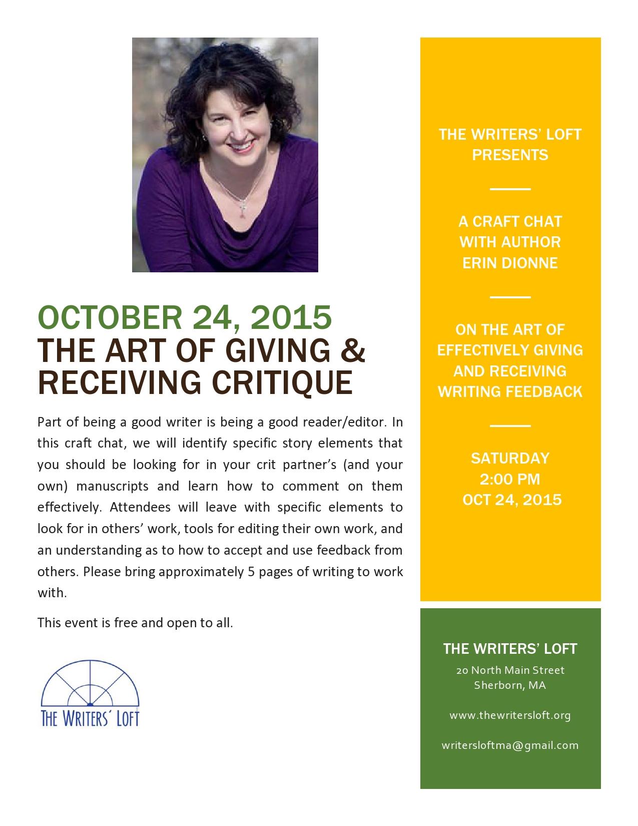2015-10-24 Critique