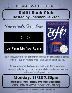2016-11 Kidlit Book Club