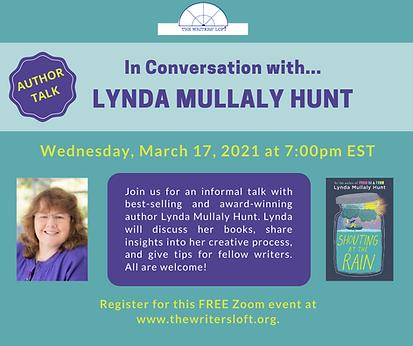 In Conversation with Lynda Mullaly Hunt.