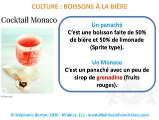 French culture - special drinks