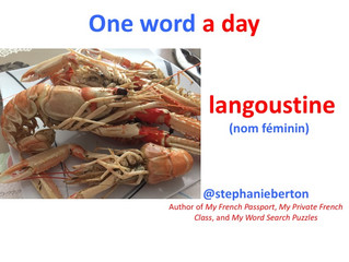 "One French word a Day ""langoustine"""