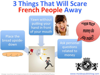 Three things that will scare French people away