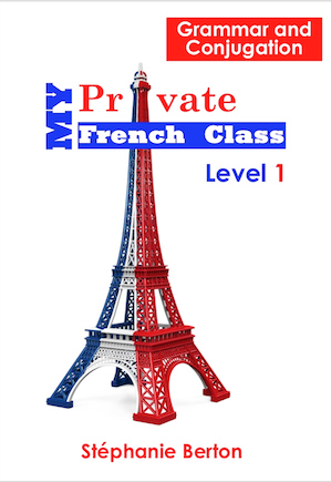 Book to learn French grammar conjugation
