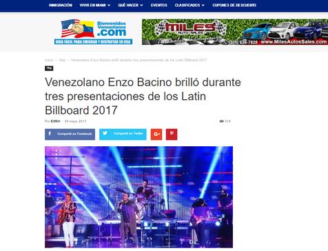NEWS - BIENVENIDOS VENEZOLANOS