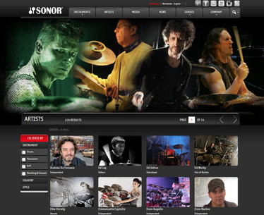 HOMEPAGE - SONOR DRUMS