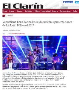 NEWS - EL CLARIN