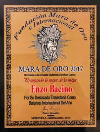 MARA DE ORO 2017