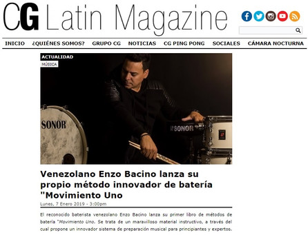 NEWS - CG LATIN MAGAZINE