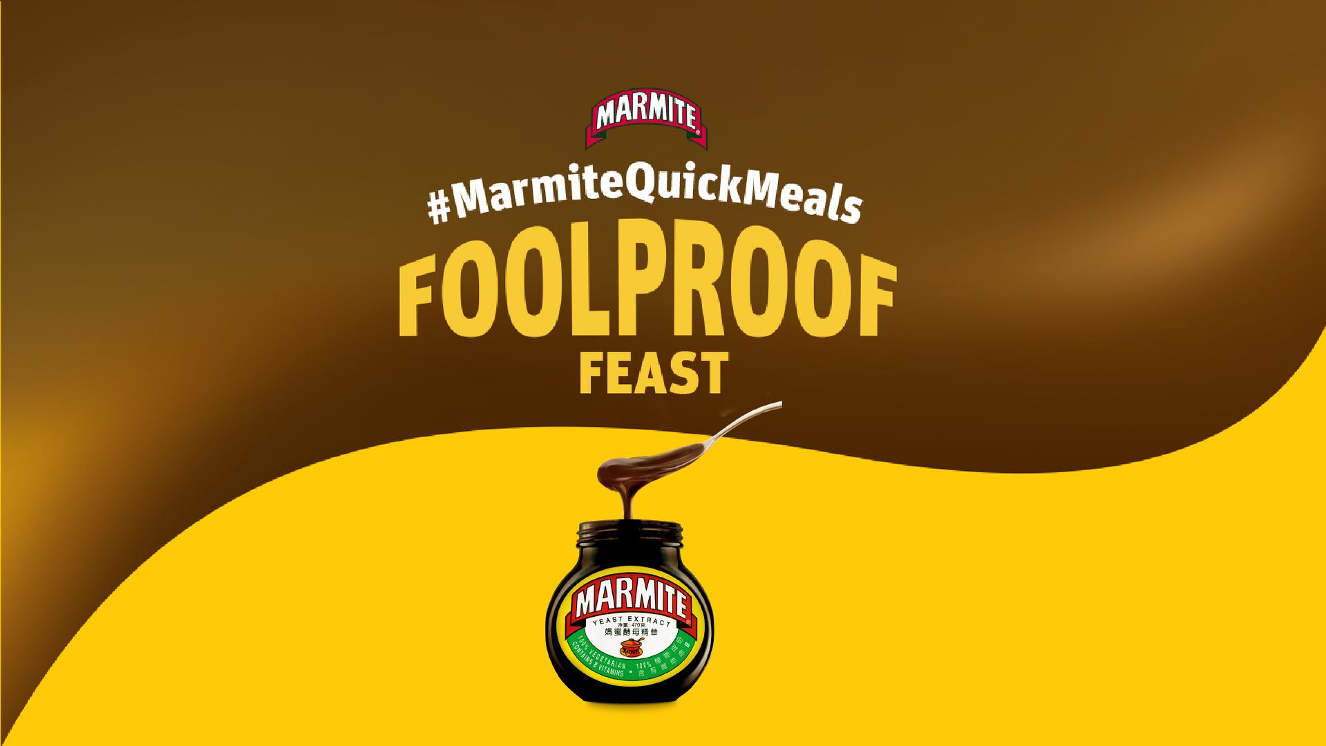 Marmite FoolProof Feast