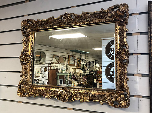 Antique Gold Mirror