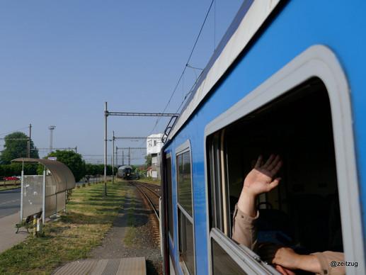 Zug mit Fenster