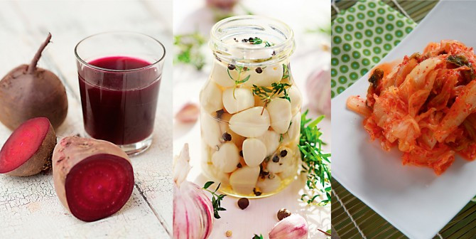 Living fermented foods are in, dead foods are out