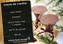 Creme de Menthe (Cacao & peppermint beverage)