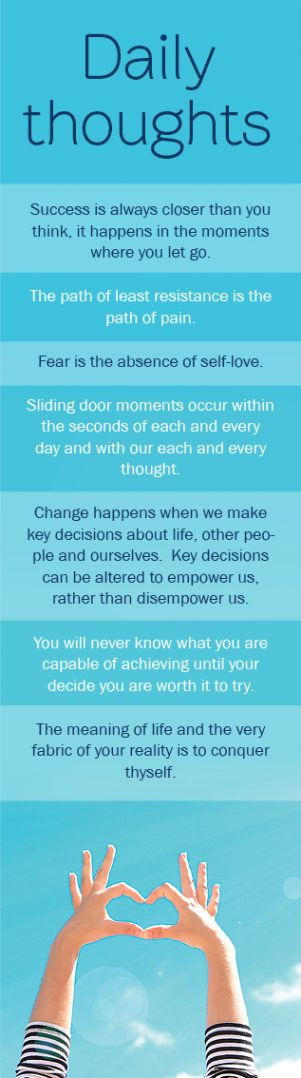 Sliding door moments – Life's moments that shape and define us…