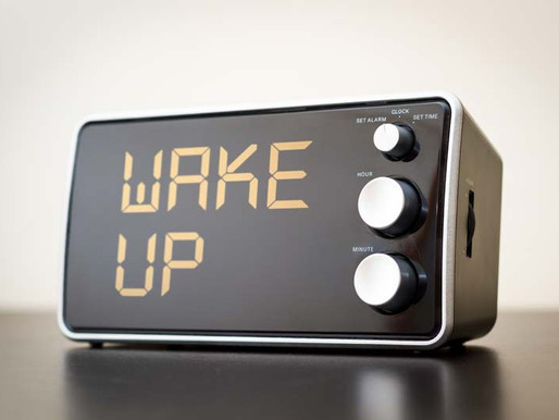 Loose the snooze button!