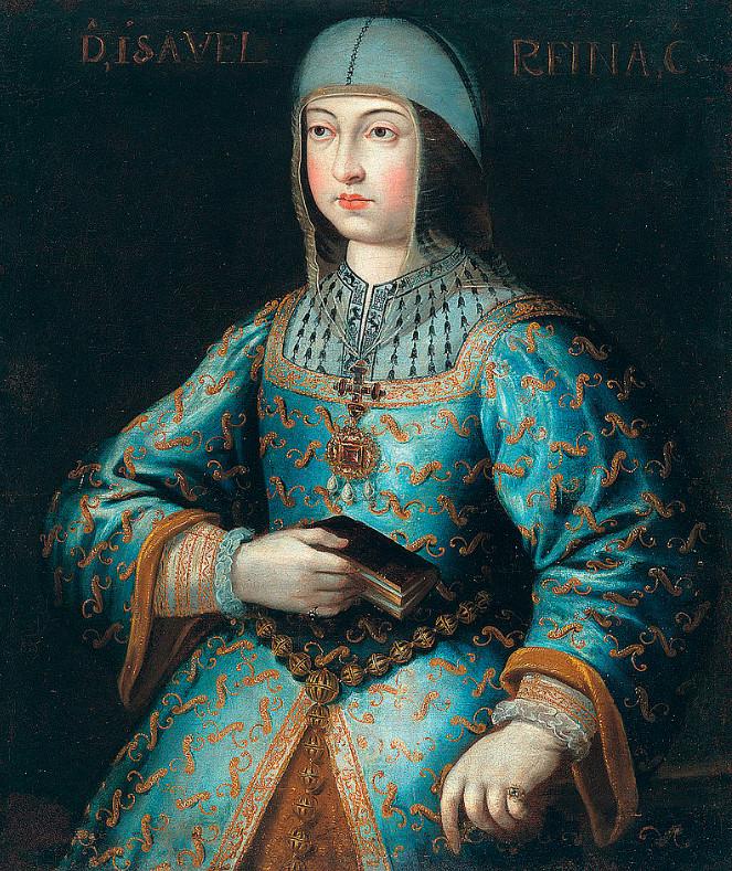 Retrato de la Reina Isabel la Católica. Cofia