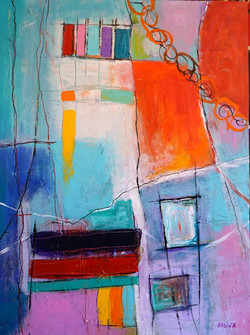 SOLD -Tranquility 101 X 76 cm ( 40X30_)