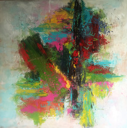 SOLD -Lost in the Maze 100X100cm.JPG