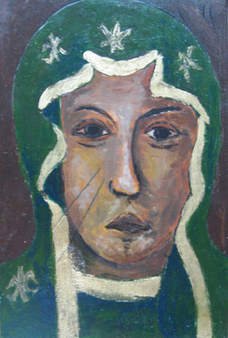 Our Lady in Green.JPG