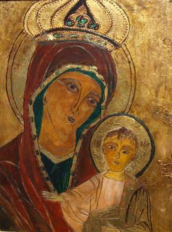 Our Lady of Czestochowa - unfreamed.JPG
