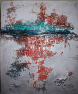 SOLD.........Red reflection # 2