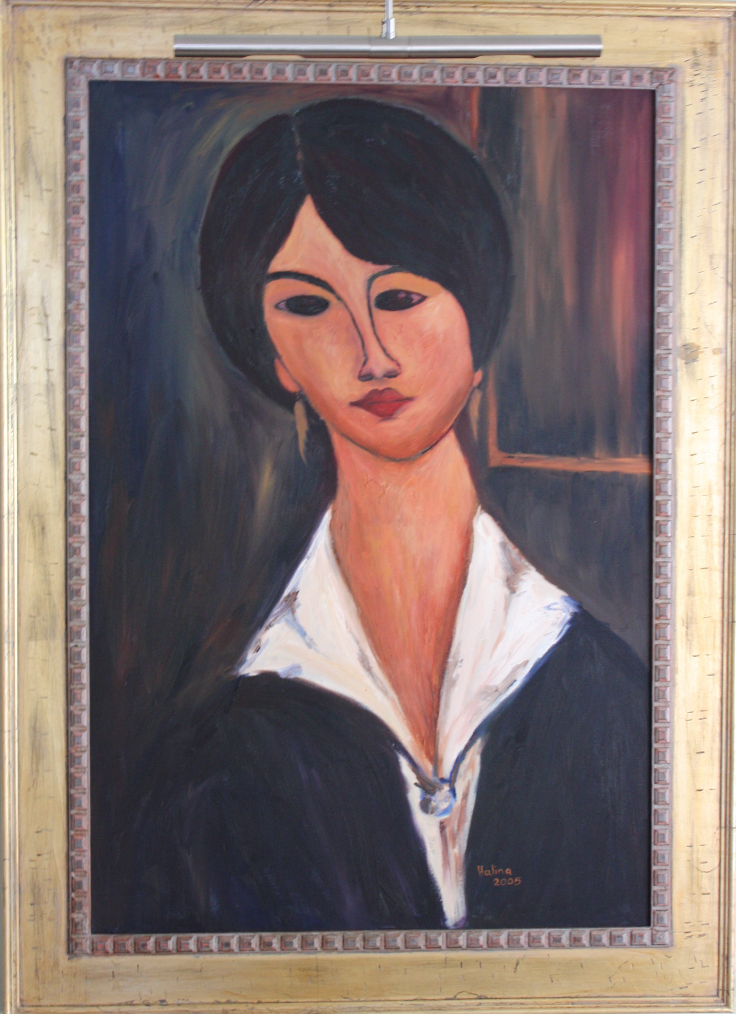 Madigliani - Framed.JPG