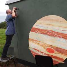 Jupiter installation at the observatory