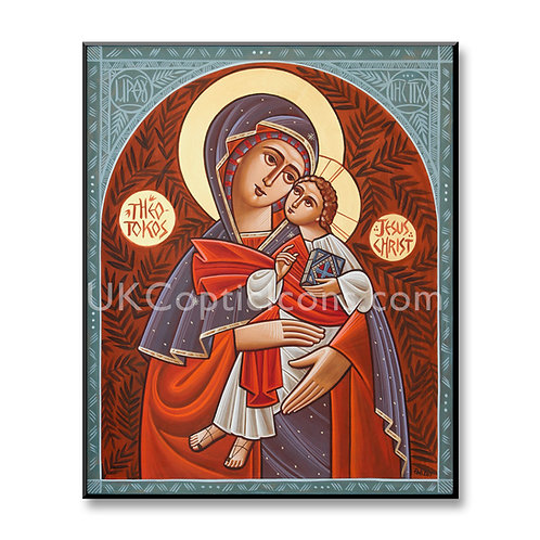 Theotokos In Red