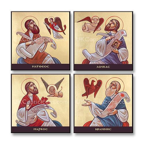 4 evangelists (group of 4 prints)
