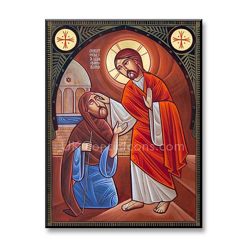 Christ Heals a Man Born Blind