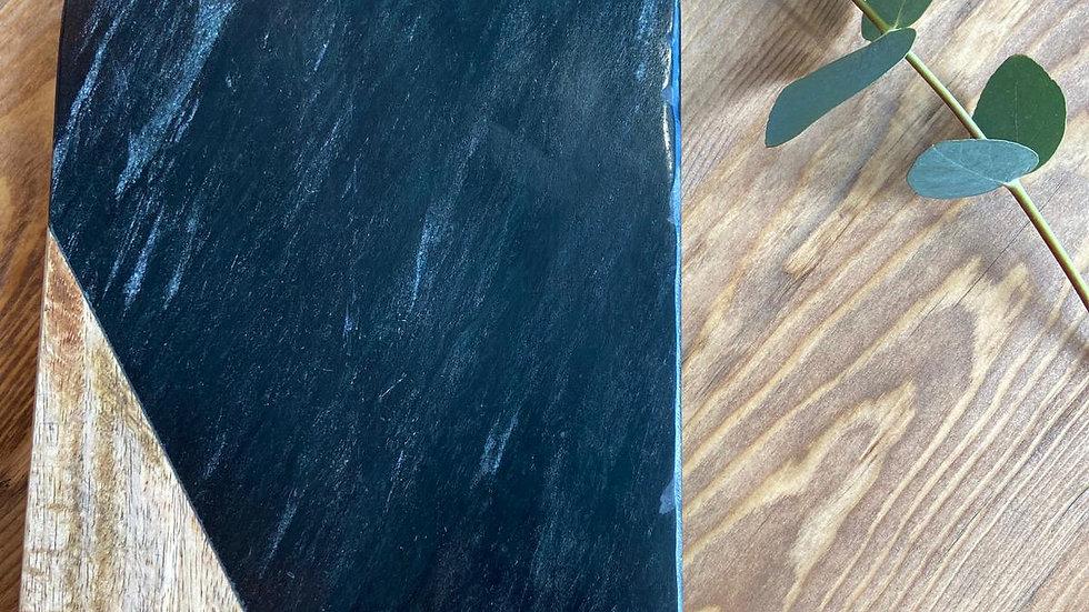 Planche en marbre et bois de manguier