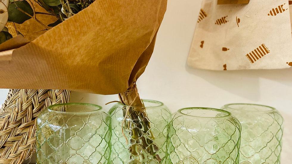Vase vert eau
