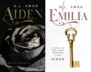 Cover of Aiden and Emilia by HL Swan. Billionaire Erotic Romance