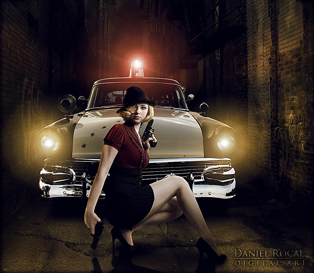 """Hot Mobster Girl Picture """"Mafia"""" by Daniel Rocal is licensed under CC BY-NC-ND 2.0"""