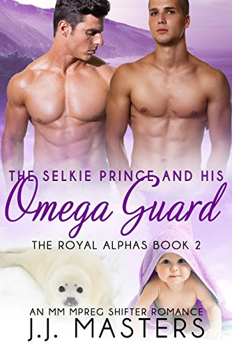 Book Cover The royal alphas by JJ Masters. Paranormal Erotic Romance