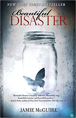 Mafia Romance Book Cover of Beautiful Disaster by Jamie McGuire