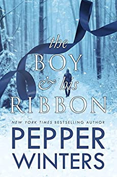 Book Cover of Age Gap Romance Novel The Boy and his Ribbon by Pepper Winters