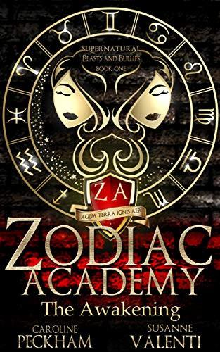Cover of the Paranormal Erotic Romance Novel Zodiac