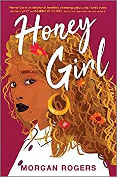 Erotic Lesbian Book cover Honey Girl by Morgan Rogers