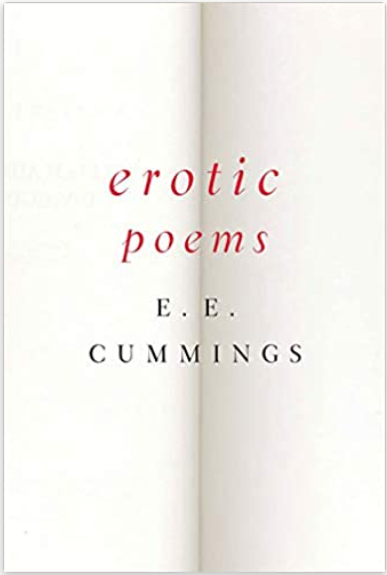 Book Cover of Erotic Poems by E. E. Cummings