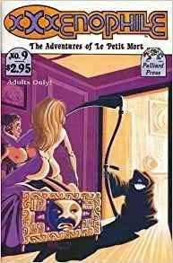 Book Cover of Xxxenophile Illustrated Erotic Comic by Phil Foglio